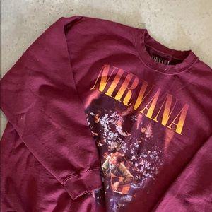 NIRVANA UO sweatshirt